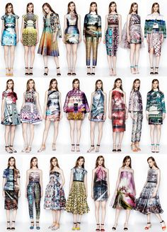 Mary Katrantzou photographic prints