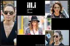 Jessica Alba Wearing ill.i sunglasses by Will.I.Am