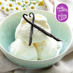 Buy Homemade Creamy Vanilla Ice Cream by on PhotoDune. homemade creamy vanilla ice cream with natural vanilla sticks Paleo Dessert, Raw Desserts, Frozen Desserts, Frozen Treats, Healthy Desserts, Raw Food Recipes, Cooking Recipes, Free Recipes, Vanilla Milk