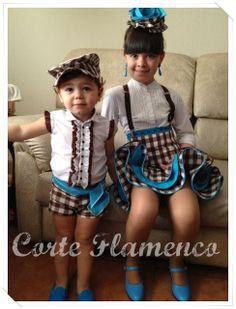 CORTE FLAMENCO: traje de flamenco