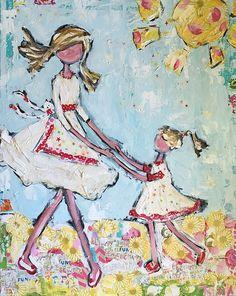 """Mommy and Daughter Twirls""  www.triciarobinson.com"