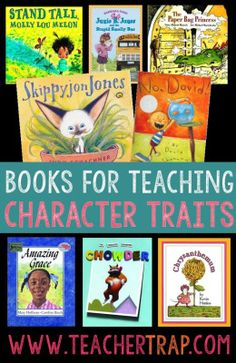 Secrets for Teaching Character Traits The best books for helping students understand and identify character traits!The best books for helping students understand and identify character traits! Reading Strategies, Reading Skills, Teaching Reading, Teaching Ideas, Guided Reading, Comprehension Strategies, Reading Comprehension, Teaching Career, Reading Resources