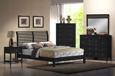 41 Choice American Home Furniture Ideas - All About Decoration Black Bedroom Sets, Black Bedroom Furniture, Bedroom Decor, Bedroom Ideas, Master Bedroom, White Bedroom, Bedroom Design Inspiration, Design Your Bedroom, Design Ideas
