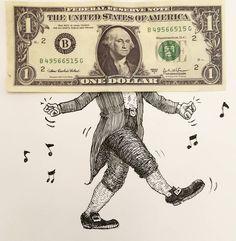 """""""Dolar yükseldikçe göbek atan Mr. Washington Objeart : @resulertas"""""""