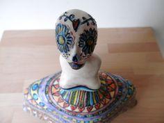 VIDA, scultura in ceramica, terra locale,mezzamaiolica matt. made in ILALAB. : Sculture, incisioni, statue di ilalab