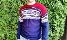 Marius genser (S) Mann. Norway, Men Sweater, Pullover, Sweaters, How To Make, Fashion, Moda, Fashion Styles, Men's Knits