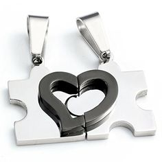 Zysta 2pcs Mens Womens His and Hers Couples Heart Puzzle Stainless Steel Pendant Love Necklace Set/ 22 inches Chain / Silver Zysta http://www.amazon.com/dp/B00ZOOZ0VQ/ref=cm_sw_r_pi_dp_43Klwb09F4MCJ