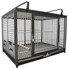 LARGE ALUMINIUM PARROT TRAVEL CARRIERS CAGE ATM 2029 bird cages (BRONZE)