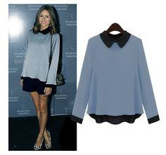 Casual Doll Collar Lapel Loose Long Sleeve Hair Cords Sweater For Women