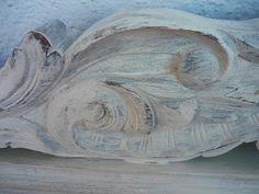 Detalles tallados en madera