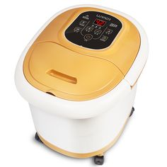 Foot Massage Bath Automatic Heating Footbath Massage Foot Bath Barrel Electric Foot Basin