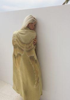 Silk Angel Wing Bathrobe » Warriors of the Divine When You Believe, Winter Guard, Baby Unicorn, Angel Wings, Warriors, High Neck Dress, Silk, Sweaters, Dresses