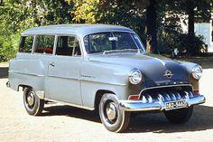 Opel Olympia Rekord Caravan (1953-1954)