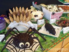 Hungry Happenings: Carnival of the Creepy Crawlers Halloween themed party.