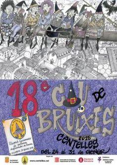 XVIII Cau de Bruixes i Mercat Màgic a Centelles (gener 2015)