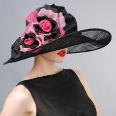 Kentucky Derby hat - Beautiful!!. To see the source оf this item click on the picture. Please also visit my Etsy shop LarisaBоutique: www.etsy.com/shop/LarisaBoutique Thanks!