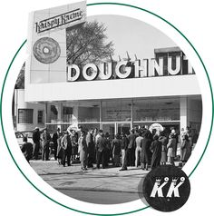 First Krispy Kreme store in Winston Salem NC in 1937.