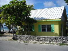 Cayman Brac cottage rental - View from Road