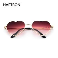 Find More Sunglasses Information about HAPTRON fashion Heart Shaped Sunglasses women metal clear red lens glasses Fashion heart sun glasses Mirror oculos de sol,High Quality de sol,China oculos de sol Suppliers, Cheap sunglass women metal from Th Junda Store on Aliexpress.com