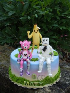 Fortnite - cake by Derika