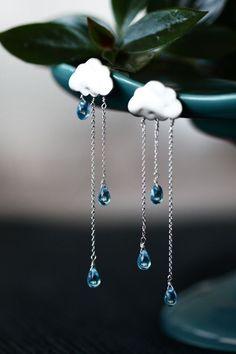 rain cloud earrings - Google-søgning