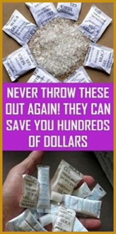 Never Throw These Out again! They Can Save You Hundreds of Dollars – Herbal Medicine Book Medicine Book, Herbal Medicine, Natural Medicine, As You Like, Just In Case, Spice Bottles, Small Envelopes, Silica Gel, Personal Development
