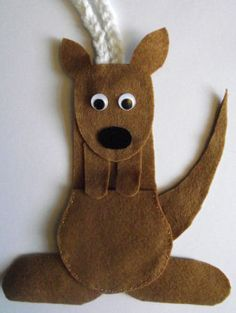 Ideas to make Australia Crafts for Kids and to get inspired by Australia Day crafts and general Australia-themed crafts for kids of all ages! Australia Crafts, Australia Day, Australia School, Aussie Christmas, Australian Christmas, Calabaza Disney, Kangaroo Craft, Kangaroo Pouch, Art For Kids