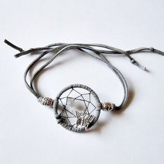 MADE TO ORDER Moonstone Dreamcatcher Bracelet by tampagemfactory, $20.00