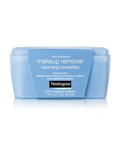 Proactiv is not designed for make-up removal! These little towelettes do a fantastic job getting off every trace of my war paint.