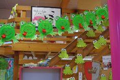 """Boirs - Ecole Sainte Marie: Bricolage """" la grenouille """""""