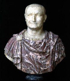 Ritratto di Vespasiano Scultura 67-79 d.C. Marmo cm 85 Collocazione: Palazzo Nuovo, Sala degli Imperatori