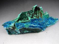 240mm-1010g-Malachite-and-Chrysocolla-Specimen-Congo