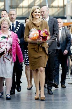 Koningin Máxima bij toekenning taaltraject   ModekoninginMaxima.nl