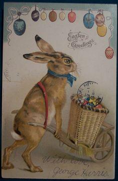 Easter Postcards + other Vintage Easter Goodies Vintage Cards, Vintage Postcards, Easter Bunny, Happy Easter, Easter Parade, Easter Printables, Vintage Easter, Vintage Holiday, Easter Holidays