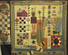 Primitive Pieces by Lynda quilts