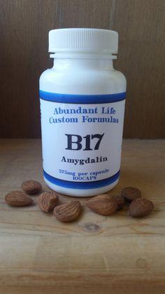Organic B17 Amygdalin Laetrile Apricot Kernel by StJohnsWellness 256-835-9588