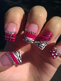 acrylic nail art | Nails Art Acrylic » nails-art-acrylic-design-gallery (8)