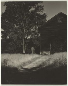 The Barn, Lake George, 1936, Alfred Stieglitz. (1864 - 1946)