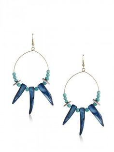 Blueberry for Women - Buy Online Women Blueberry in India at Koovs Earrings Online, Blueberry, Hoop Earrings, Jewelry, Women, Berry, Jewlery, Jewerly, Schmuck