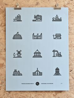 Pictogram images almost become a symbolic code language in themselves. This style of screen-printed poster is relevant for our handout that we plan to risograph Print. Risograph printing is very similar in style to screen printing. - By Tim Boelaars