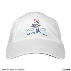 Colorida Jirafa. Regalos, Gifts. #gorra #hat