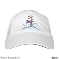 Colorida Jirafa. Regalos, Gifts. #gorra #hat