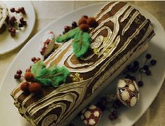 Buche de Noel... We had to make these in French class every year..