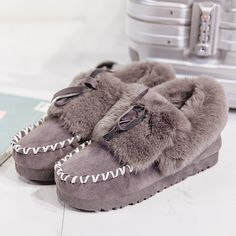 Warmest Shoes 2016 New Winter Warm Women Shoes Plush Warm Lady High Quality Shoe Easy Wear Slip on Girl Flower Snow Shoes