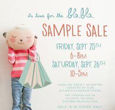 Atlanta Sample Sale