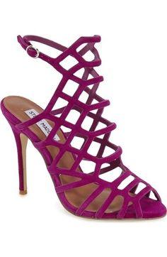 202522777416 Steve Madden  Slithur  Sandal (Women) available at  Nordstrom Caged Sandals