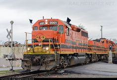 RailPictures.Net Photo: PNWR 3001 Portland & Western Railroad EMD GP40-2 at Albany, Oregon by Charles Bonville