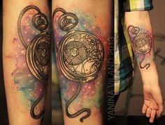 Dr-Who-tattoo-watercolor-watch-gallifreyan_Yanina-Viland