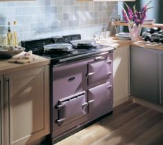 The AGA S-Series Six-Four range cooker provides the classic good looks of the iconic AGA heat storage cookers, but in a conventional range cooker. Aga Cooker, Aga Kitchen, Aga Stove, Kitchen, New Kitchen, Country Kitchen, Range Cooker, Kitchen Renovation, Purple Kitchen
