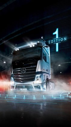 Mercedes Models, Mercedes Benz Trucks, Big Rig Trucks, Cool Trucks, Peterbilt, Mb Truck, Bronco For Sale, Customised Trucks, Custom Truck Parts
